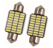 LÂMPADA LED TORPEDO 36MM 27 LEDS 4014 - WDC0855