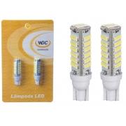 PAR LÂMPADA LED UNIVERSAL T10 20 LEDS 7020 - WDC0858