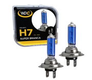 LÂMPADA SUPER BRANCA UNIVERSAL H7 55W 12V - WDC0873