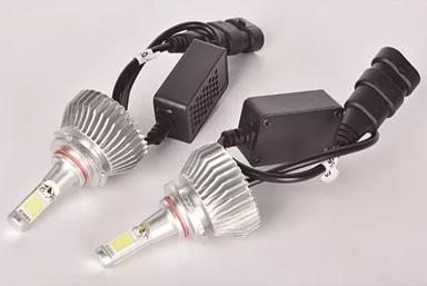 KIT LED FAROL SILVER UNIVERSAL HB3 12V - S9005
