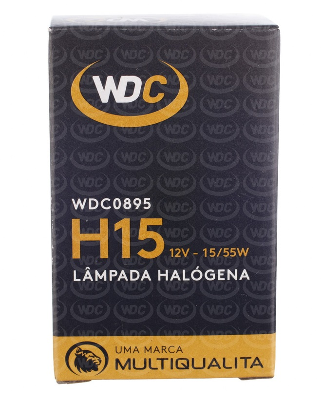 LÂMPADA HALOGENA UNIVERSAL H15 12V 15/55W - WDC0895
