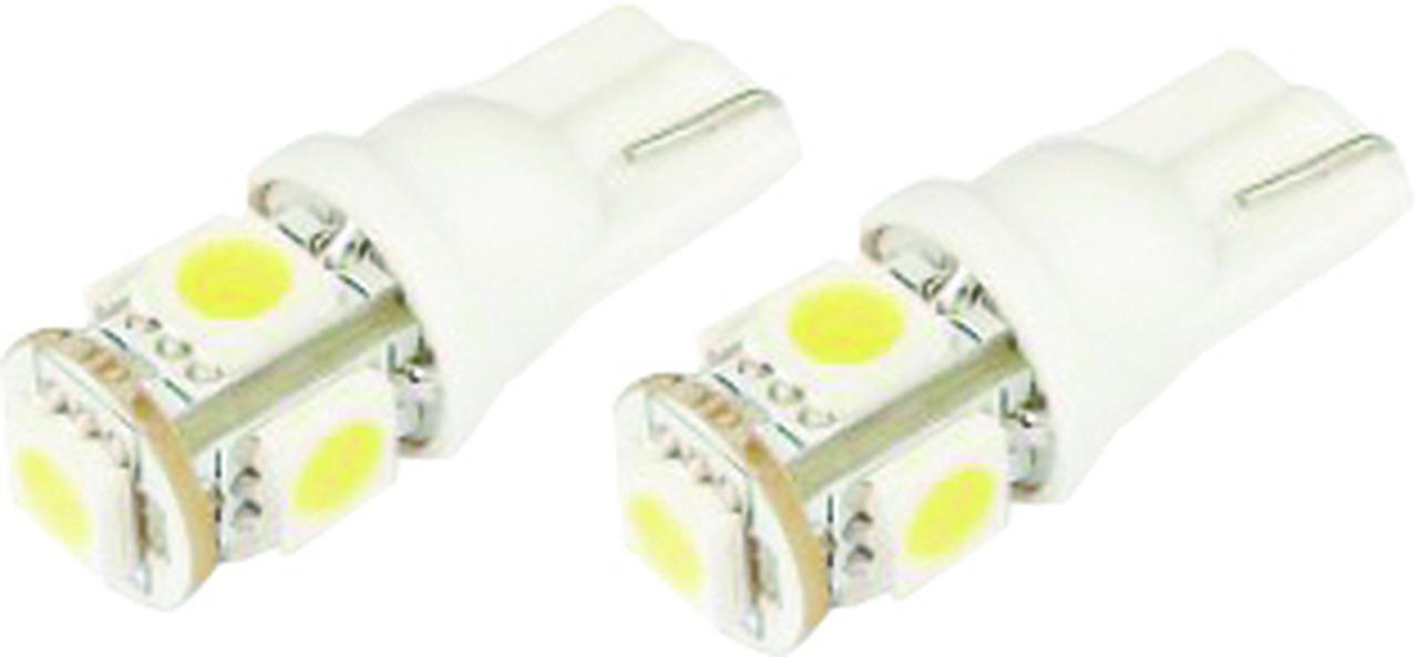 LÂMPADA LED T10 5 LEDS SUPER BRANCO - WDC0848