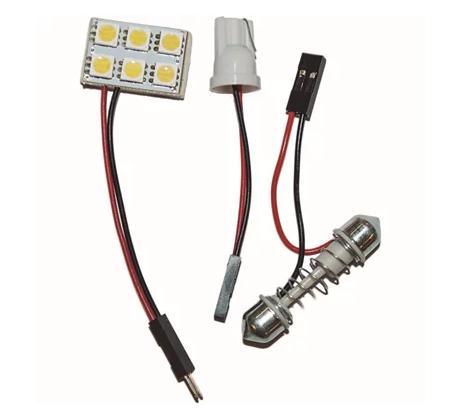 LÂMPADA LED TORPEDO 15 LEDS 5050 - WDC0864