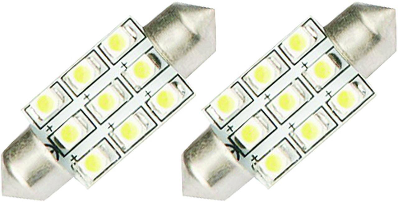 LÂMPADA LED TORPEDO 36 MM 9 LEDS - WDC0843