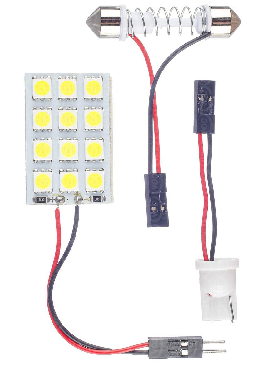 LÂMPADA LED UNIVERSAL TORPEDO 12 LEDS - WDC0865