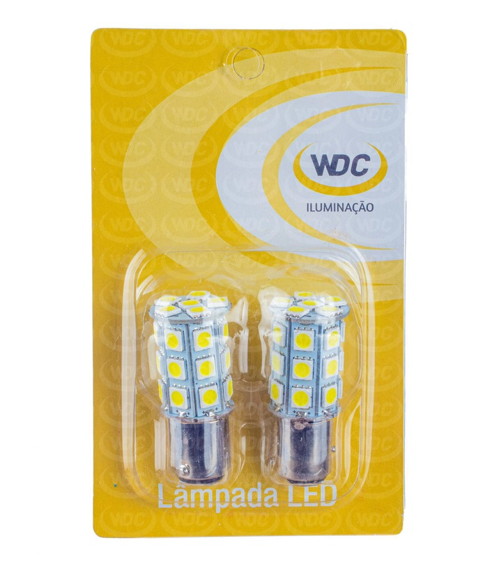 PAR LÂMPADA LED UNIVERSAL 2 POLOS 27 LEDS 5050 - WDC0862
