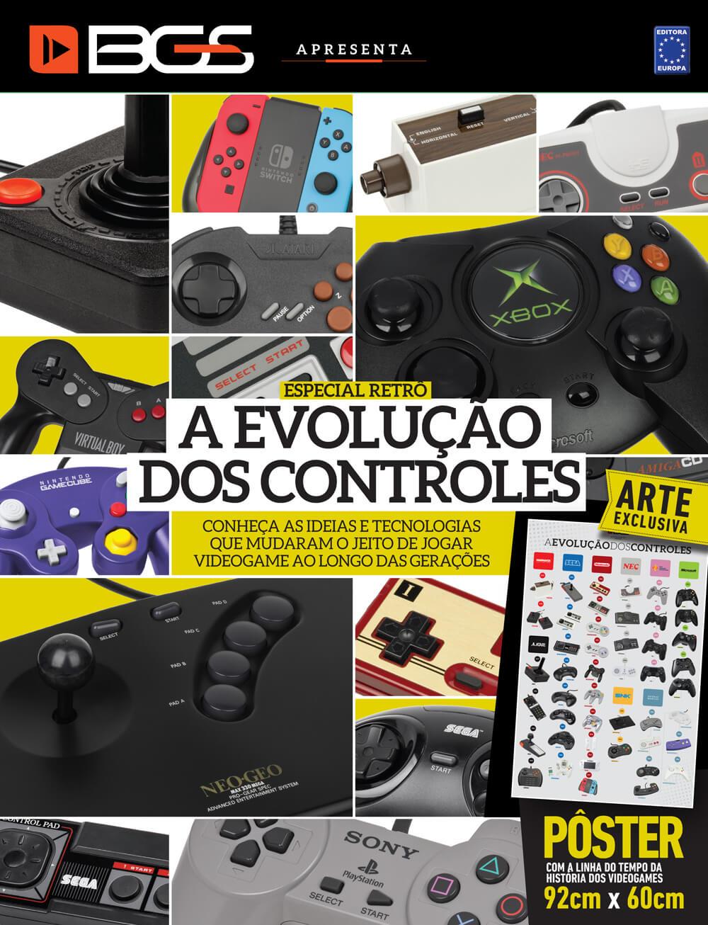 Kit Superpôsteres - A Evolução dos Controles e A História dos Videogames