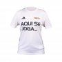Camisa BGS x Adidas - Aqui se joga_ - Unissex