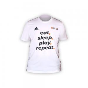 Camisa BGS x Adidas - Eat, sleep, play, repeat. - Unissex