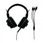 Headset Gamer Warrior Magne P2+USB Com LED Verde - PH143