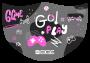 Máscara Game Girl - Elástico