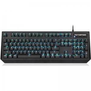 Teclado Gamer Motospeed CK95 - Preto - Otemu Brown - LED Azul