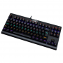 Teclado Gamer Redragon Dark Avenger Rainbow K568R (Brown)
