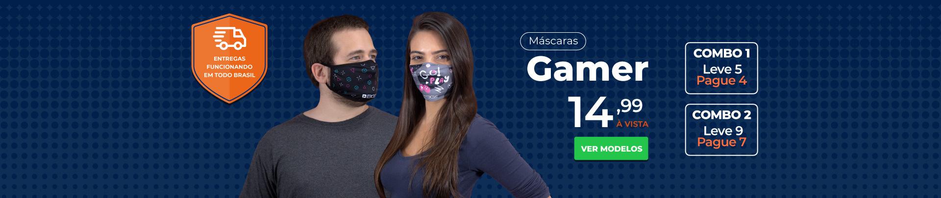 Compre 5 máscaras pague 4