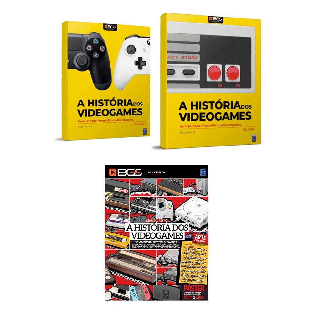 Combo História dos Videogames