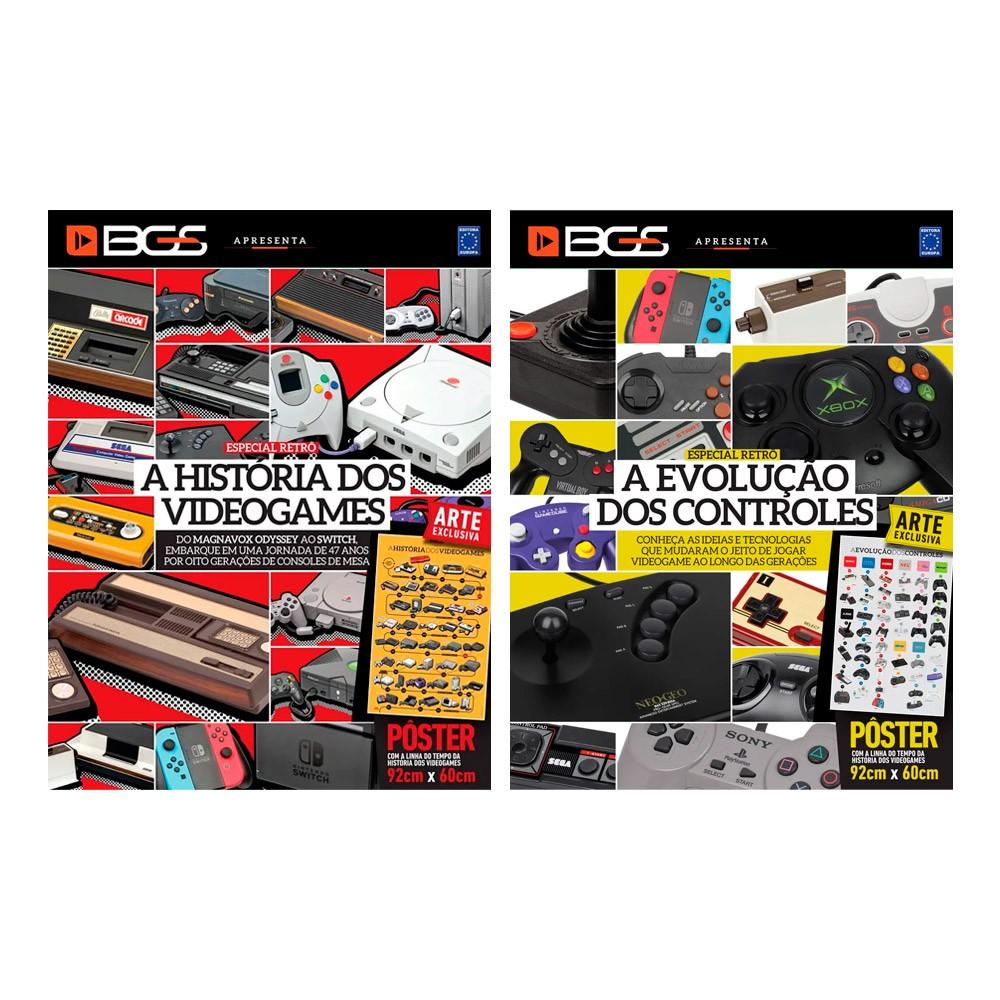Combo Revistas Superpôsteres - BGS