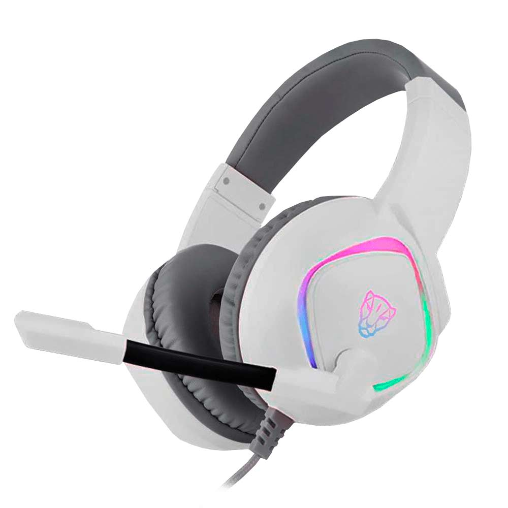 Headset Gamer Motospeed G750 Branco 7.1 RGB USB