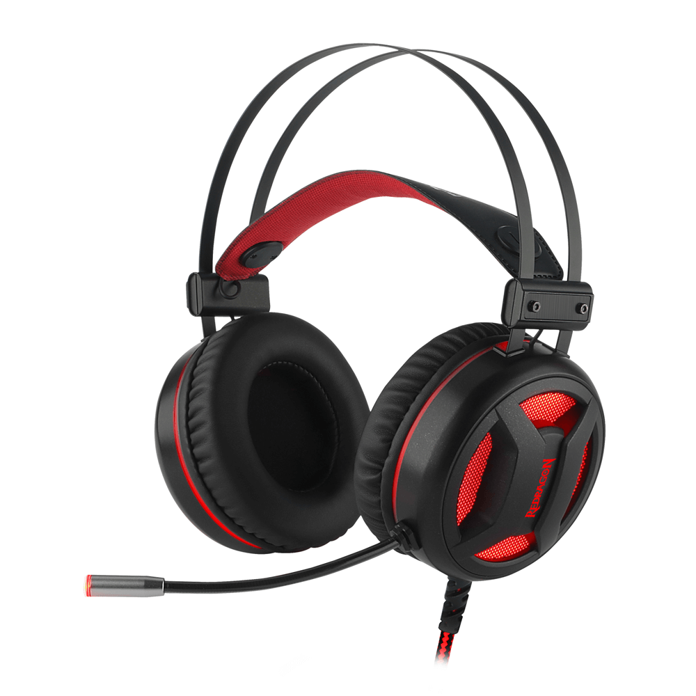Headset Gamer Redragon Minos USB 7.1 H210