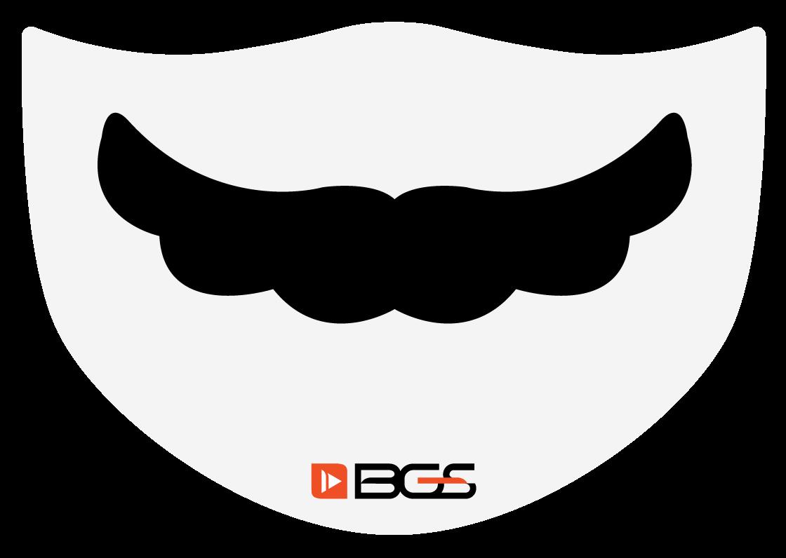 Máscara Bigode - Elástico