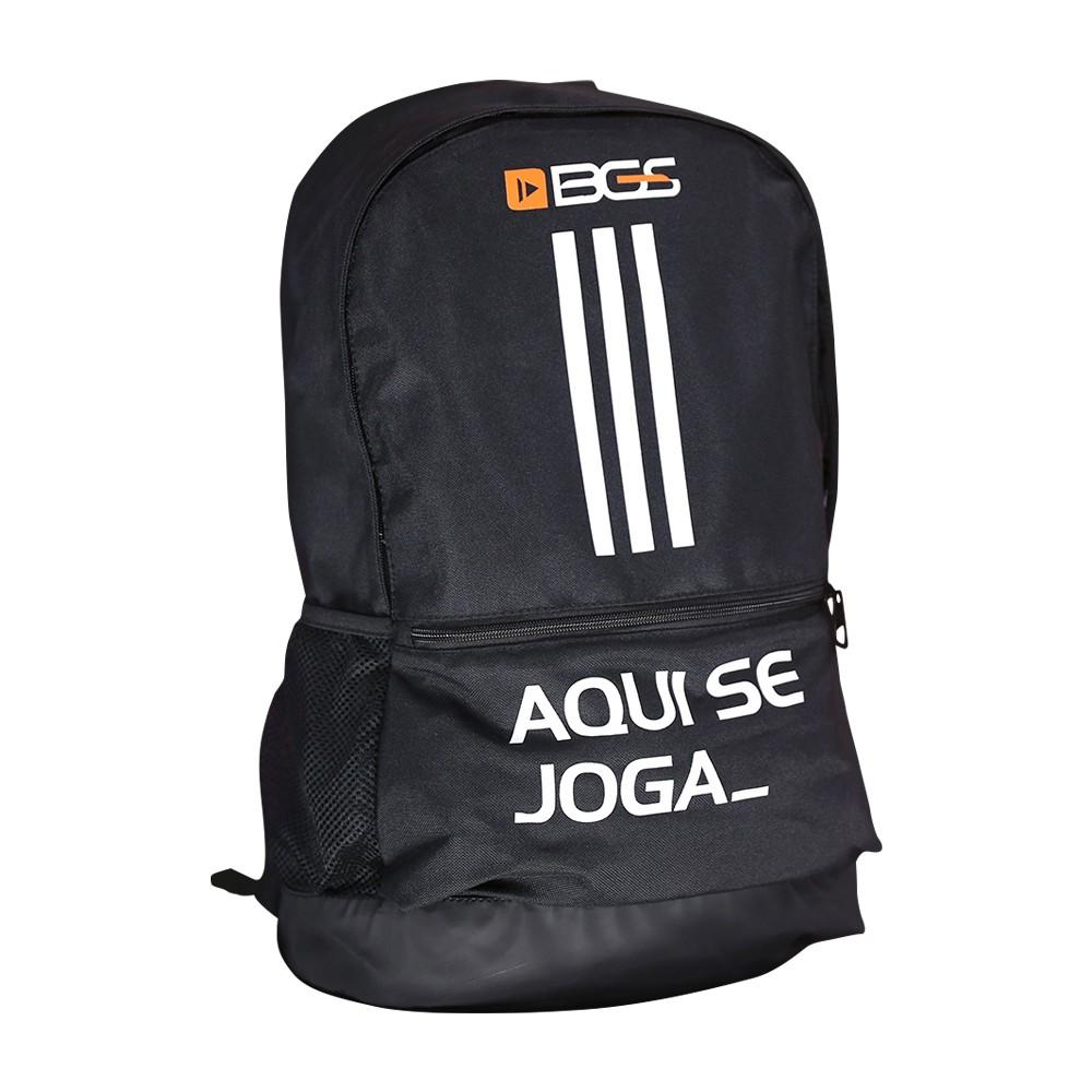 Mochila BGS x Adidas - Aqui se joga_