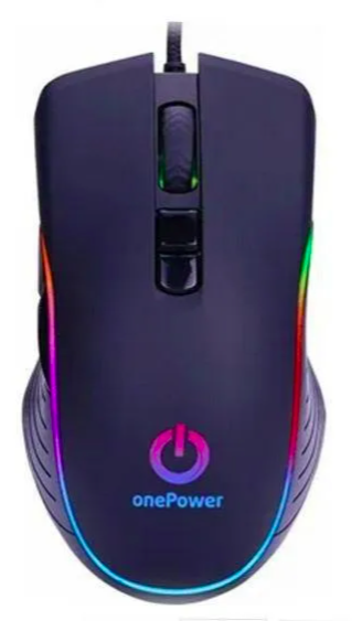 Mouse Gamer Rgb Mo 505 3200 Dpi One Power
