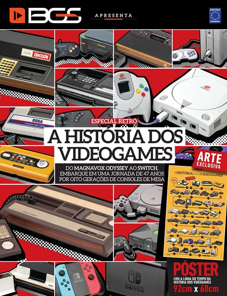 Revista Superpôster - A História dos Videogames