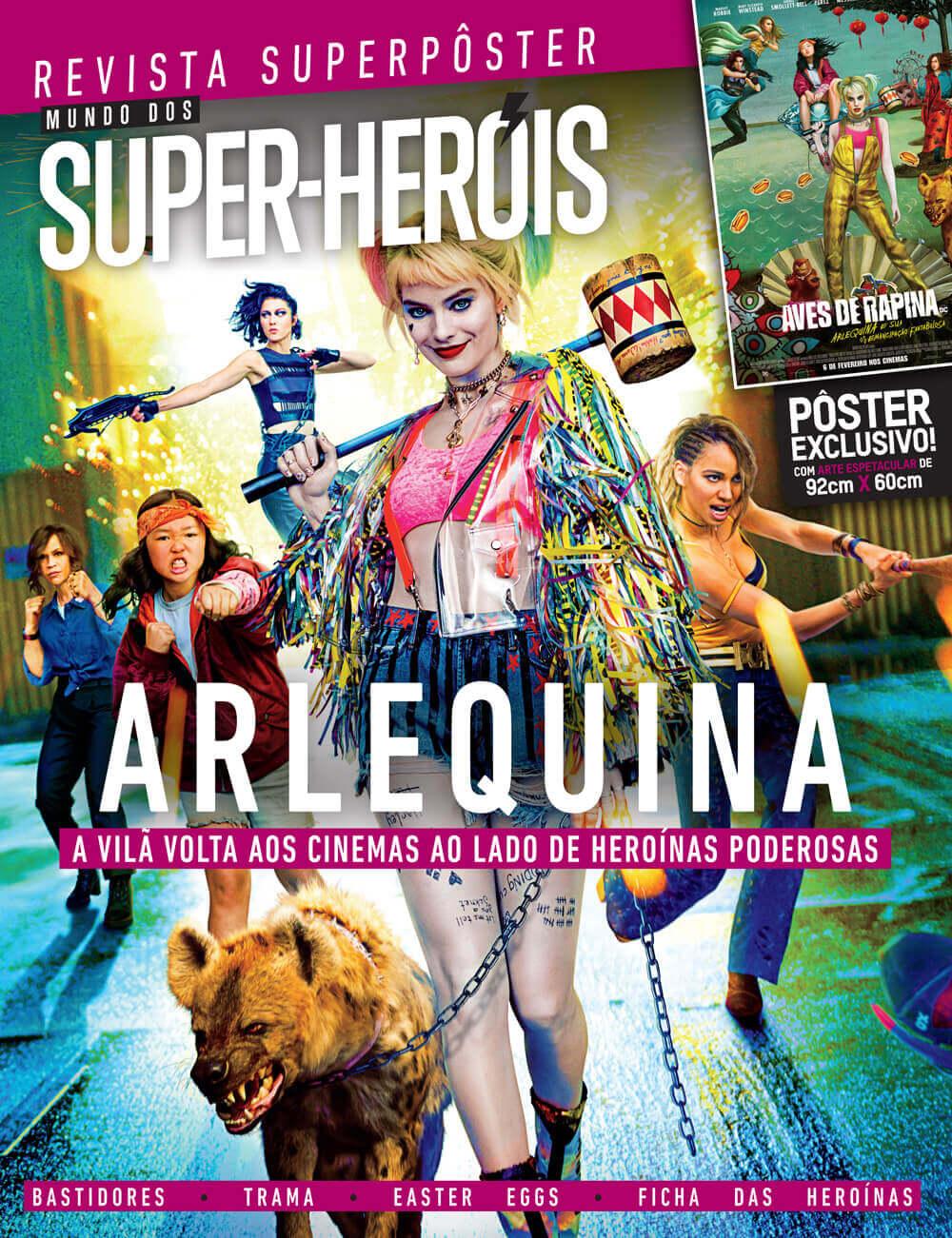 Revista Superpôster - Arlequina