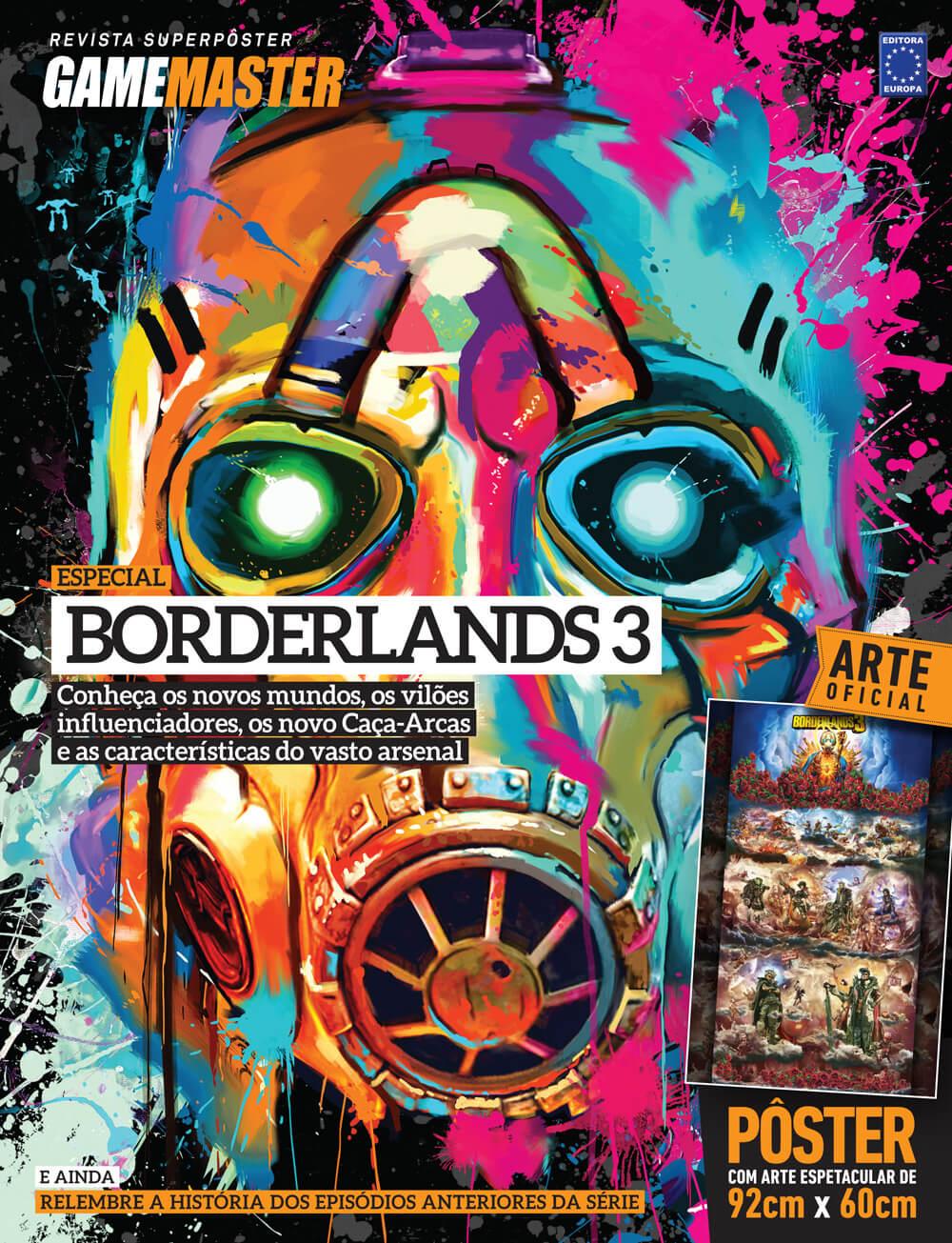 Revista Superpôster - Borderlands 3