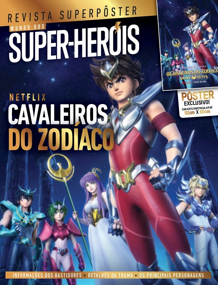 Revista Superpôster - Cavaleiros do Zodíaco