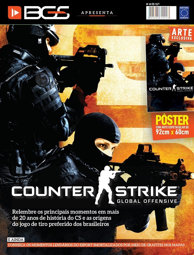 Revista Superpôster - Counter-Strike: Global Offensive
