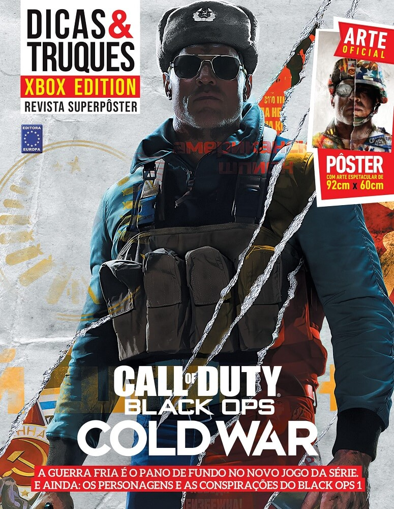 Revista Superpôster - Dicas & Truques Xbox Edition: Call Of Duty Black Ops: Cold War