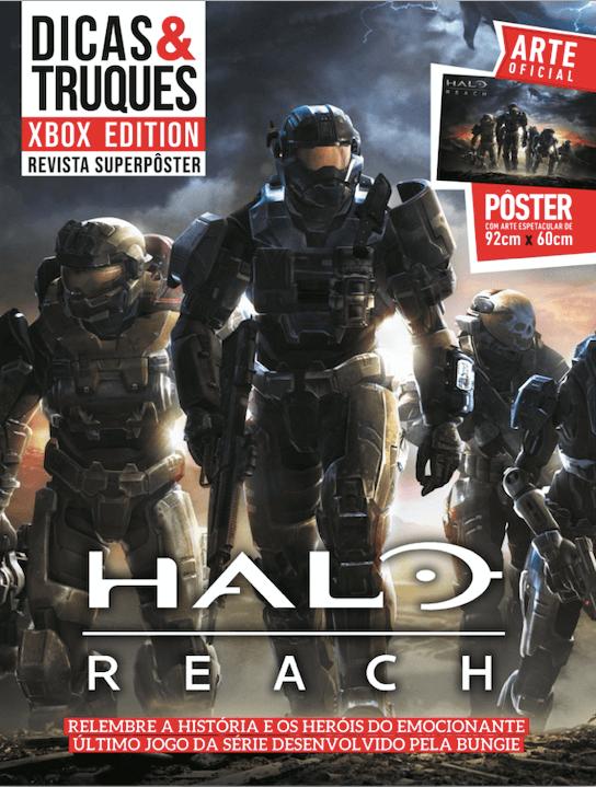 Revista Superpôster Dicas e Truques Xbox Edition - Halo Reach