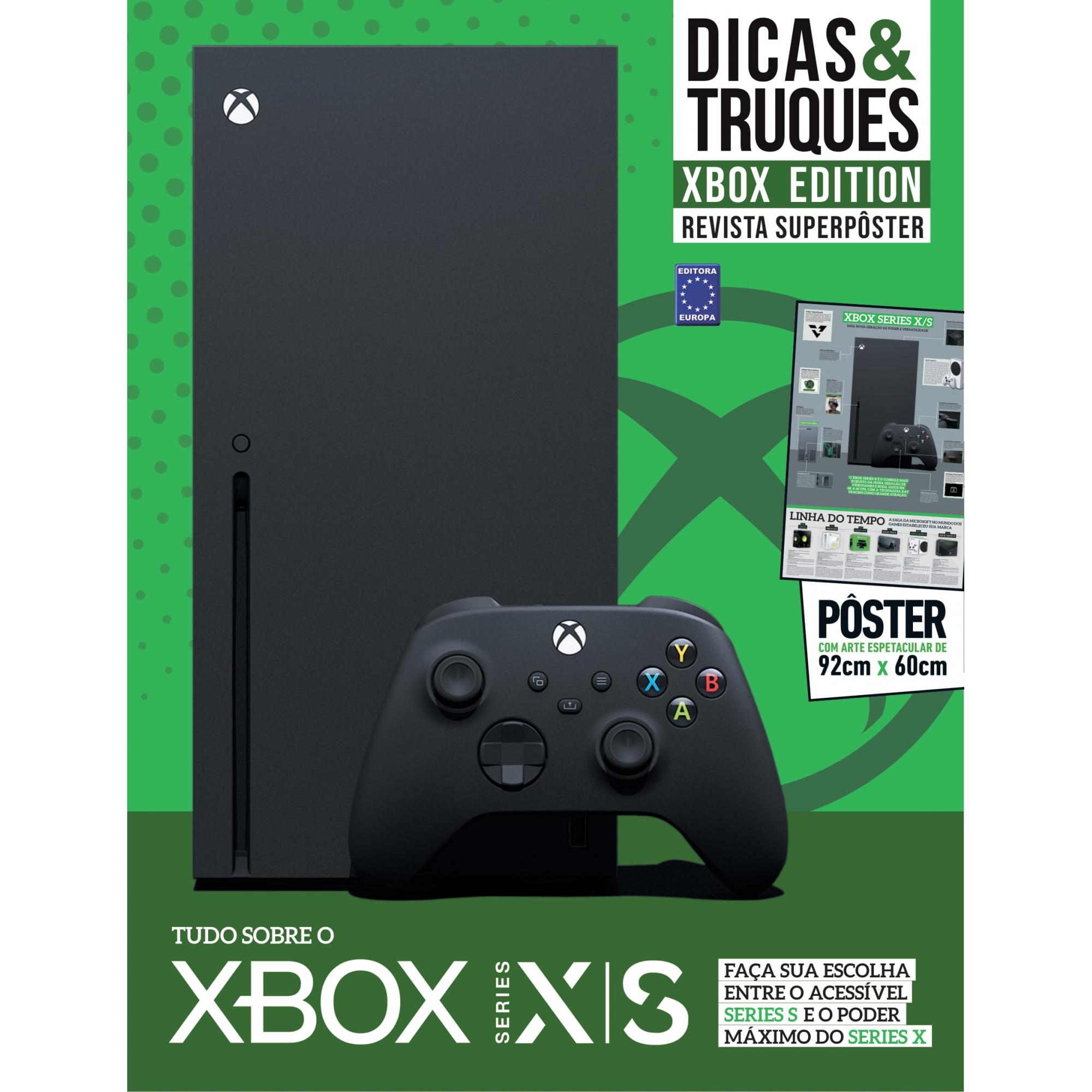 Revista Superpôster Dicas e Truques Xbox Edition - Xbox Series XS