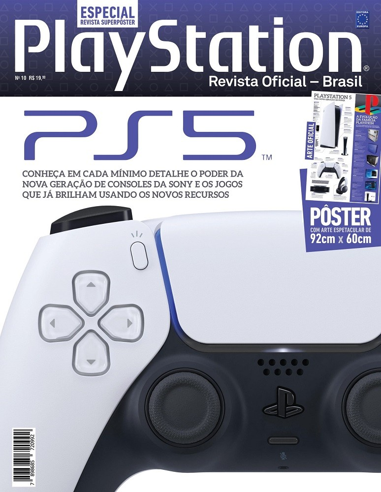 Revista Superpôster Especial PlayStation - PS5