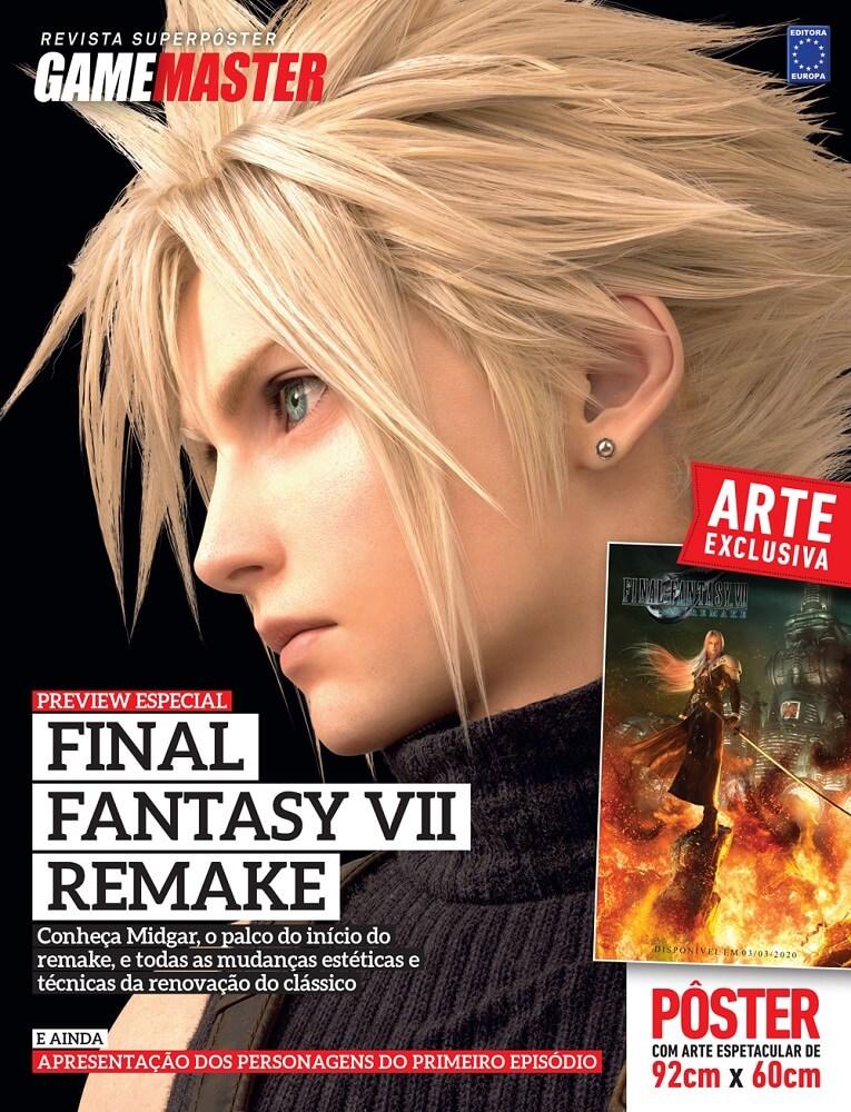 Revista Superpôster - Final Fantasy VII Remake Preview