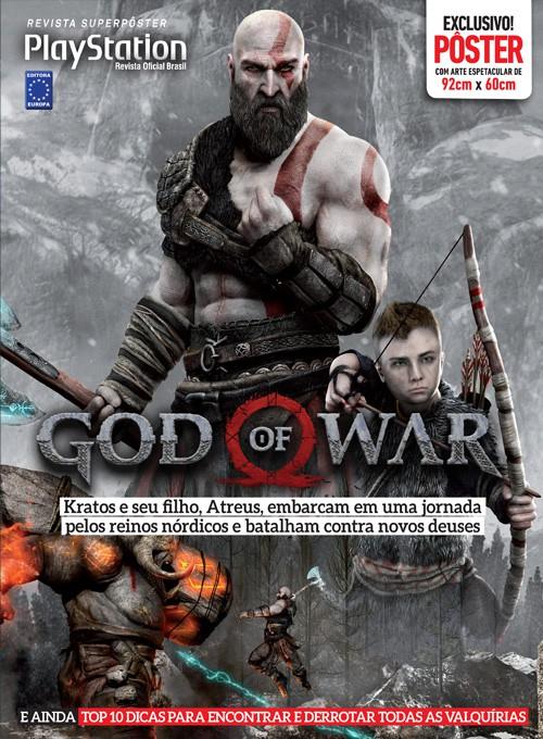Revista Superpôster - God Of War