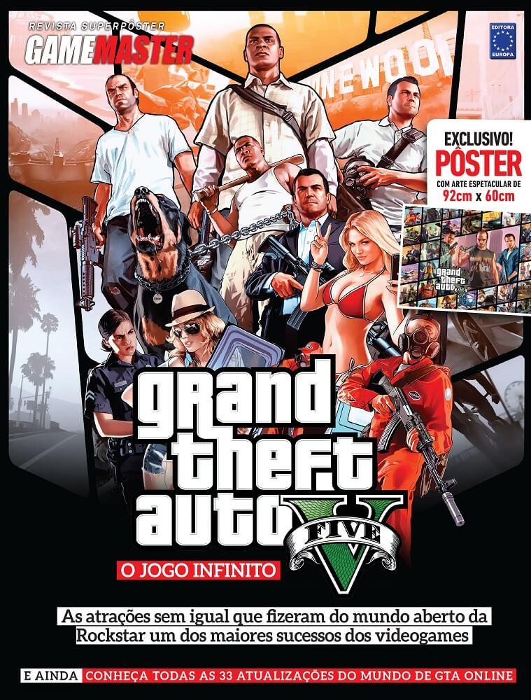 Revista Superpôster - GTA V