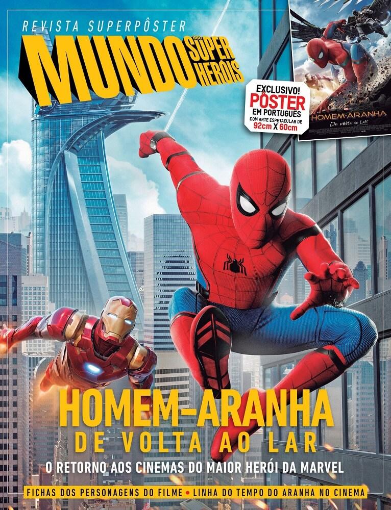 Revista Superpôster - Homem Aranha
