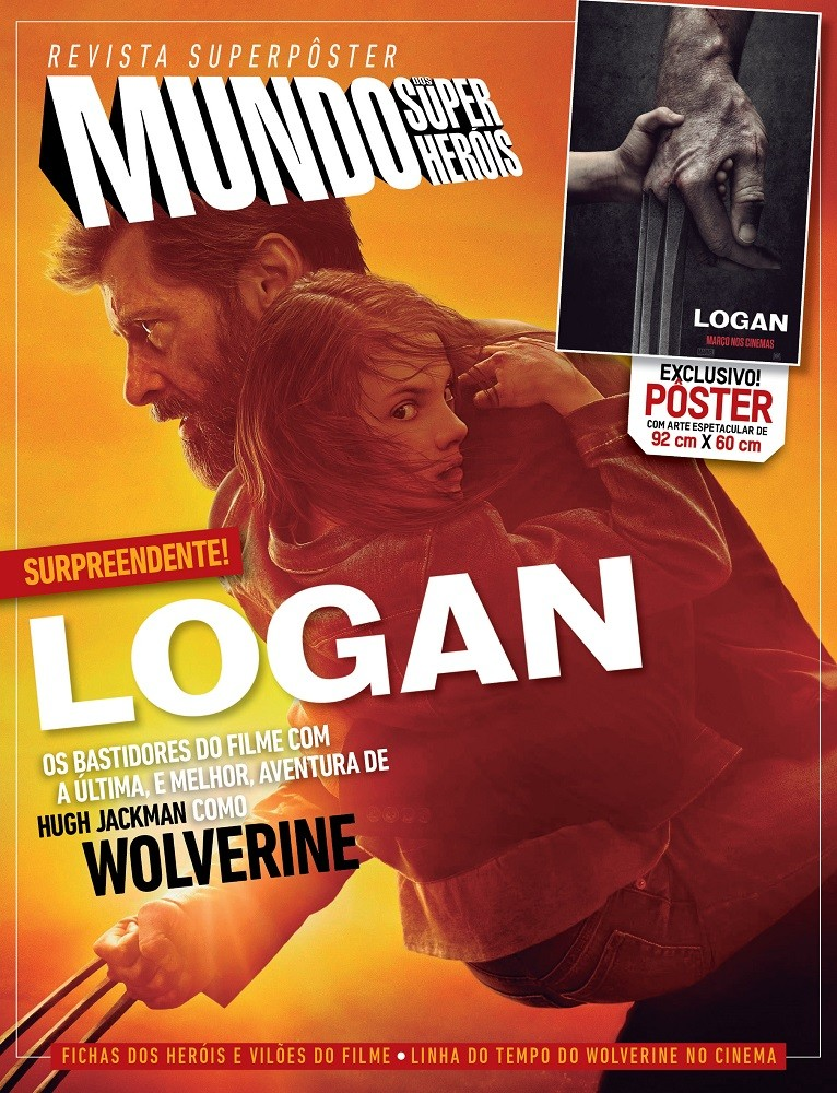 Revista Superpôster - Logan