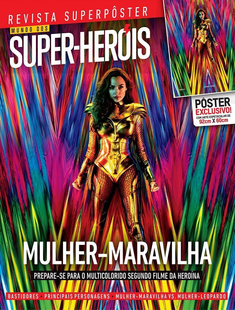 Revista Superpôster - Mulher Maravilha