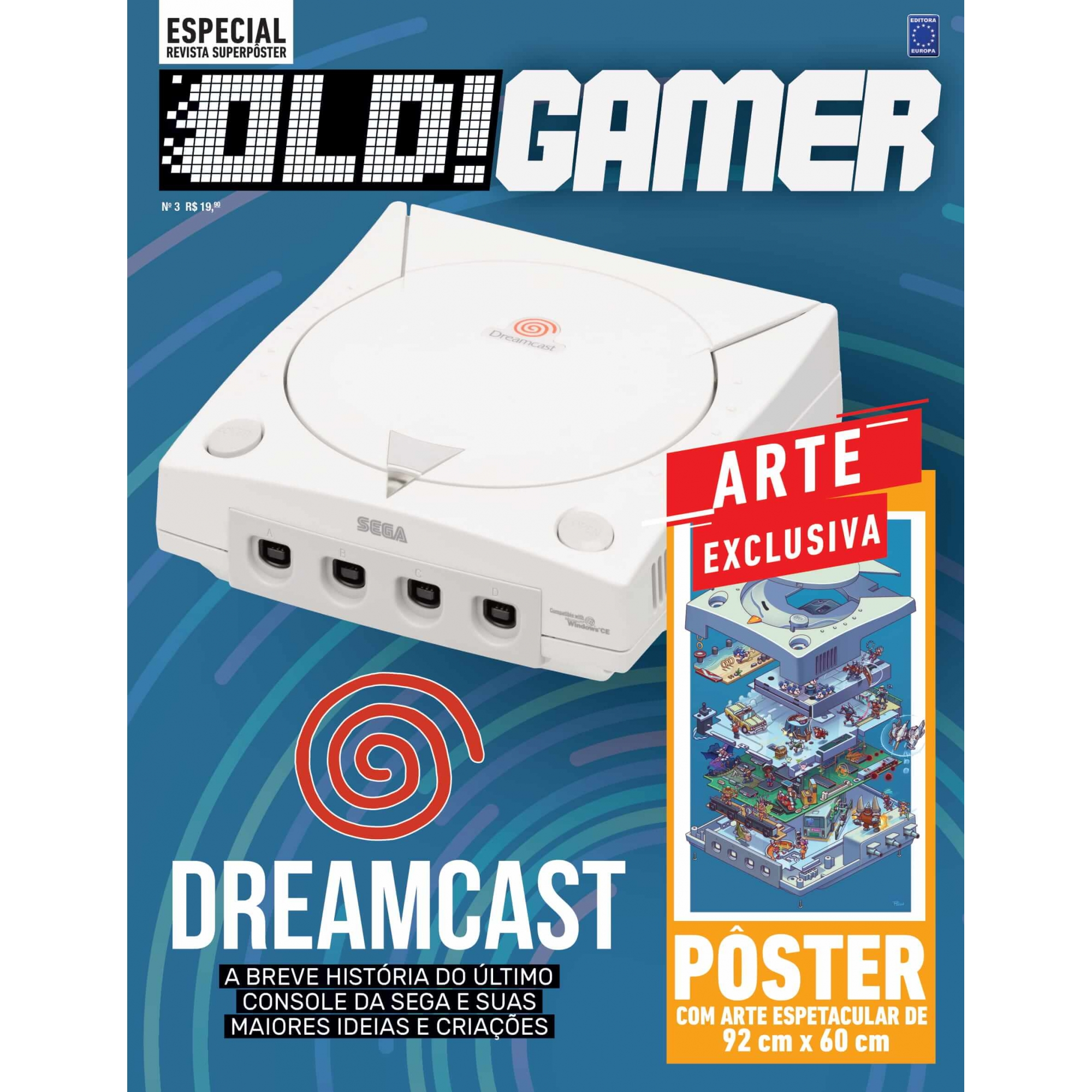 Revista Superpôster OLD!Gamer 3 - Dreamcast