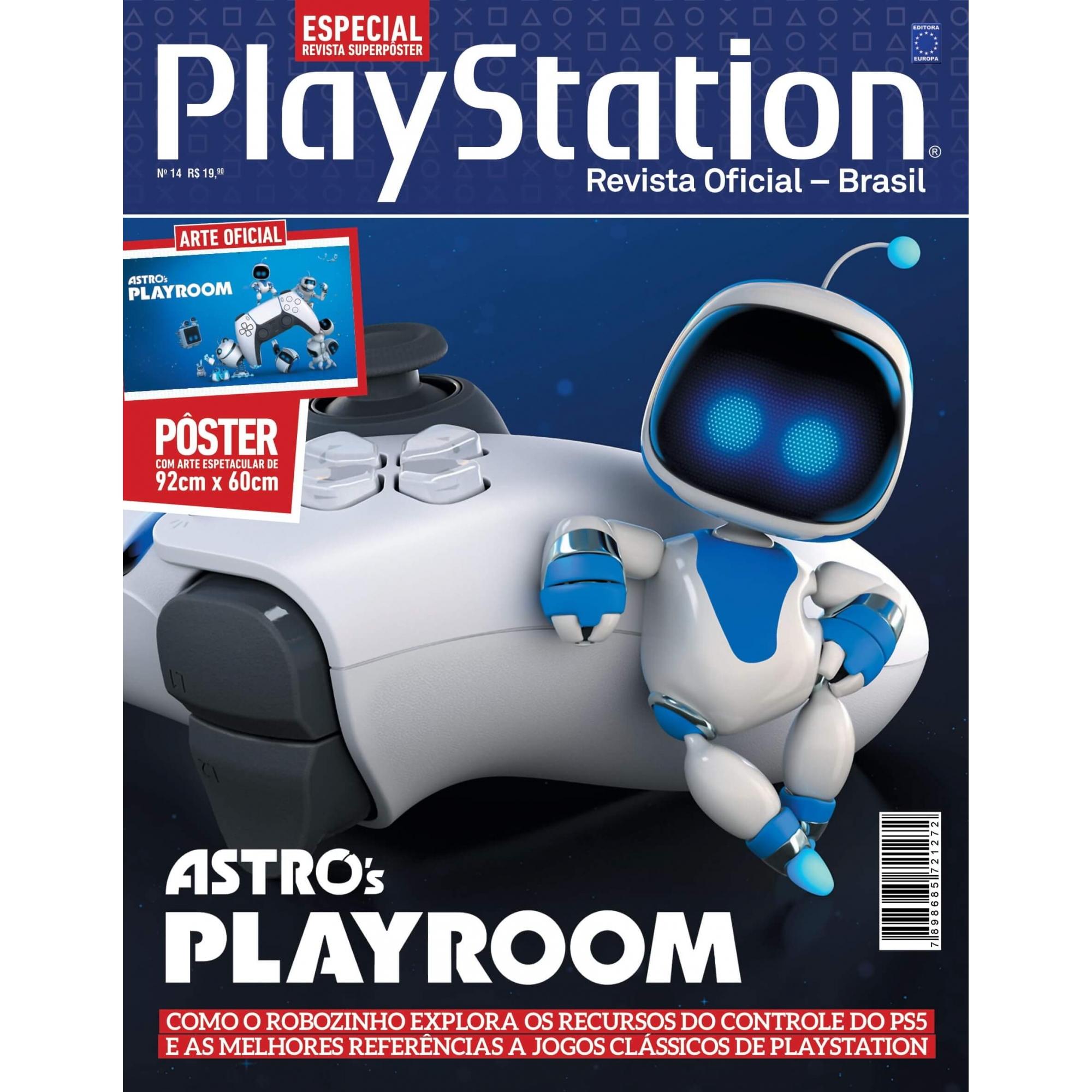 Revista Superpôster PlayStation - Astros Playroom