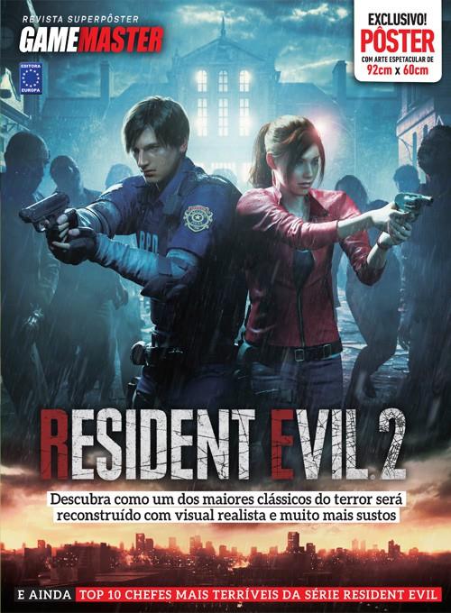 Revista Superpôster - Resident Evil 2