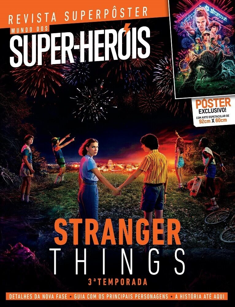 Revista Superpôster - Stranger Things