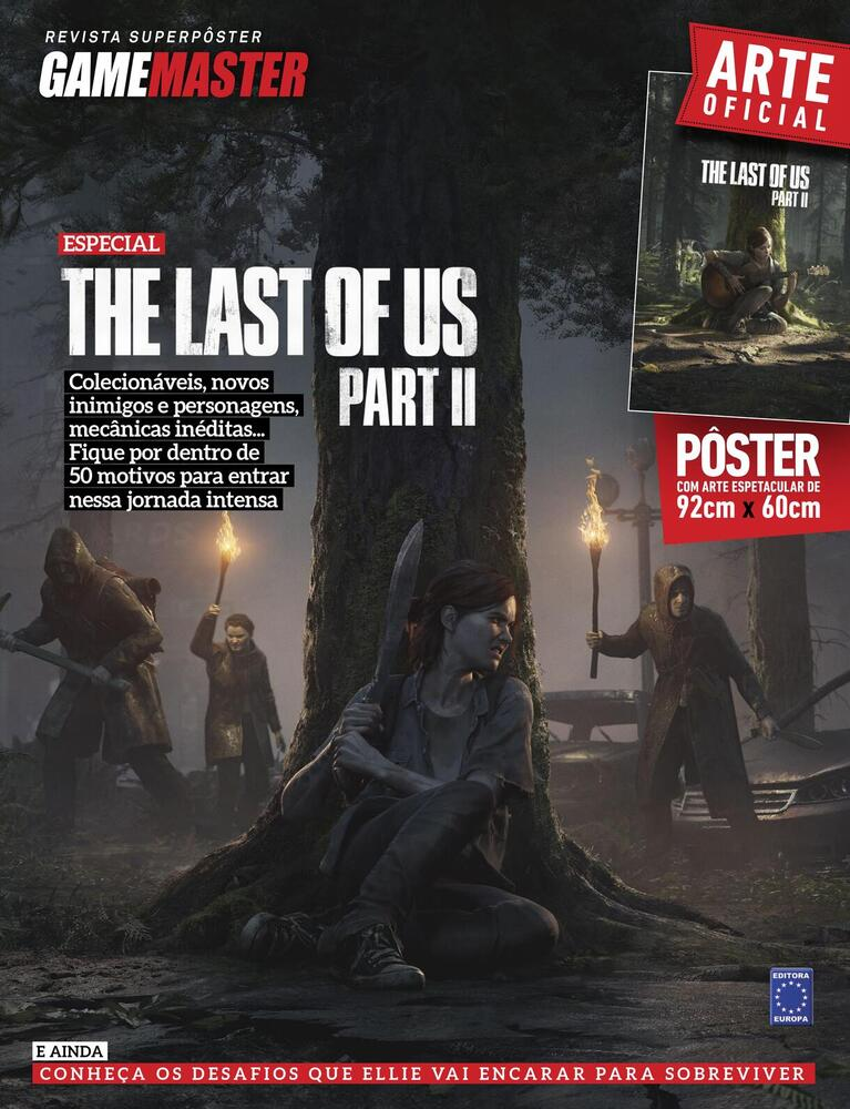 Revista Superpôster - The Last Of Us Part II #2