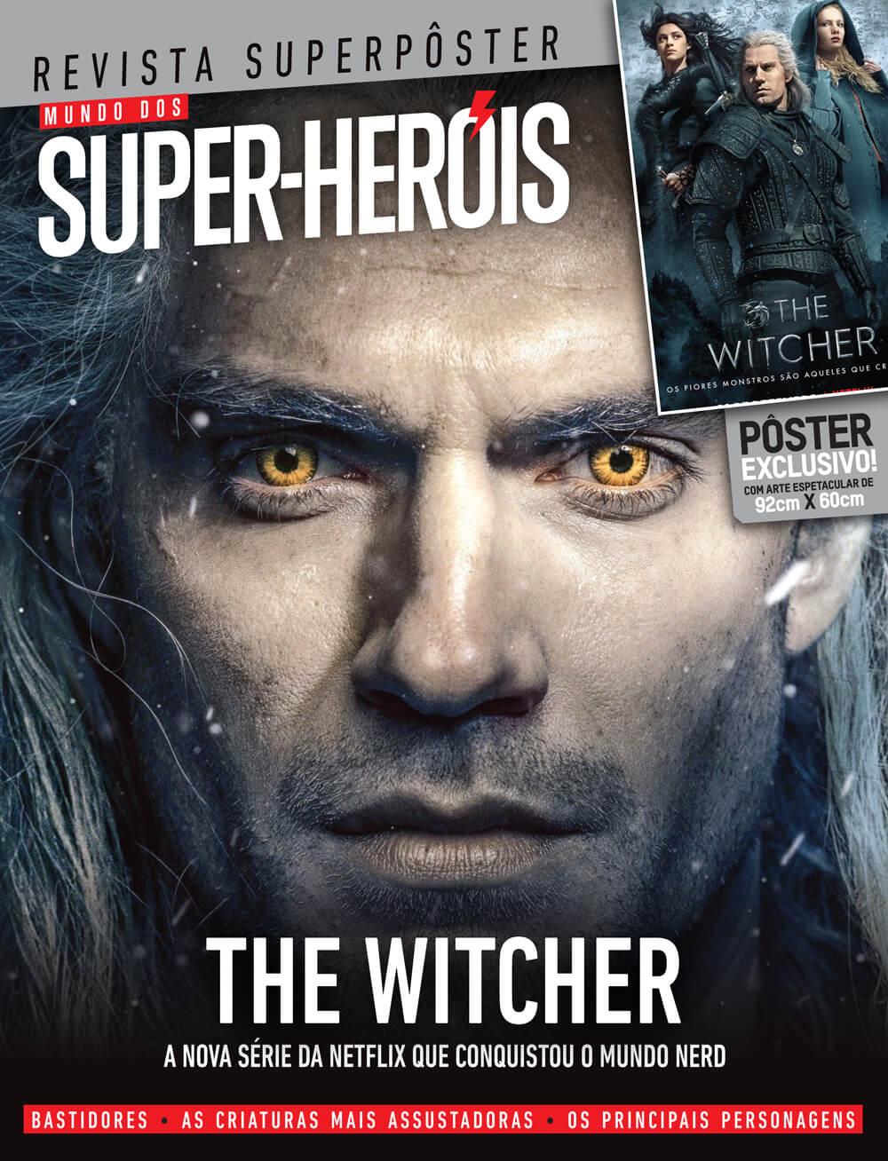 Revista Superpôster - The Witcher