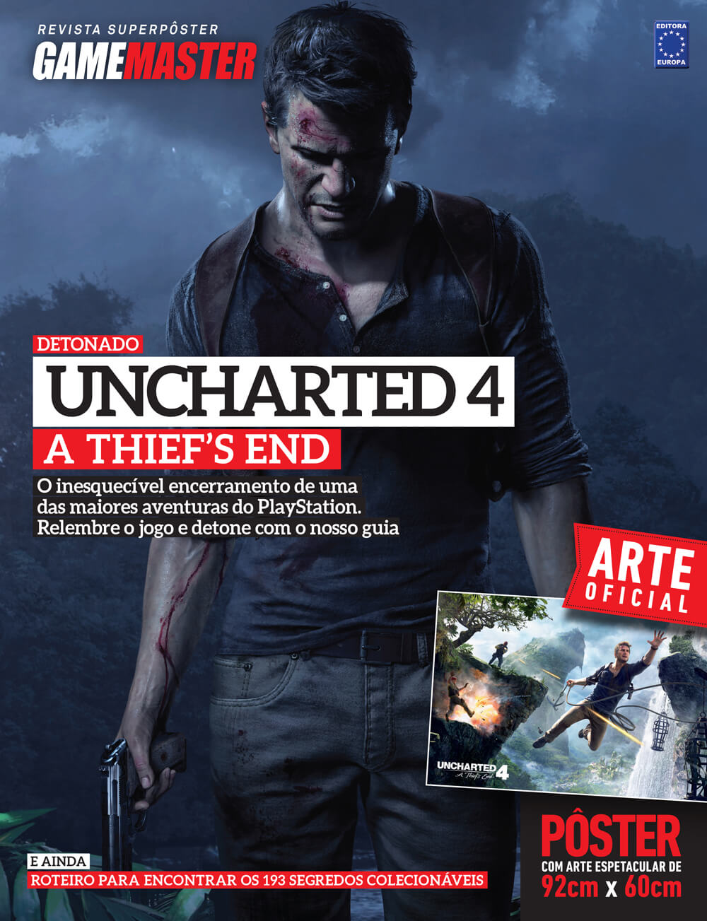 Revista Superpôster - Uncharted 4