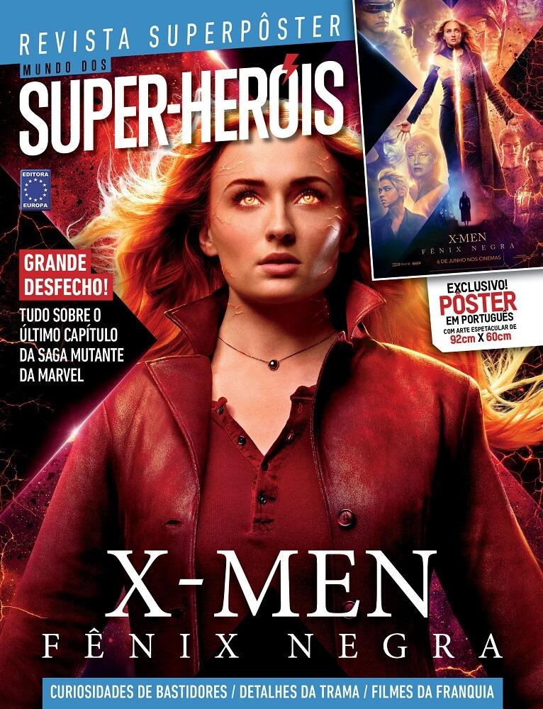 Revista Superpôster - X-Men Fênix Negra