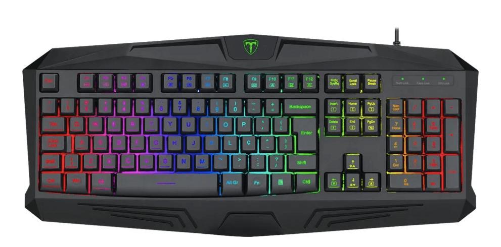 Teclado Gamer T-Dagger Tanker RGB