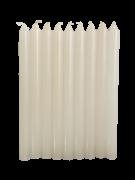 120 Velas Branca Palito 16cm 26g.